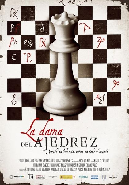 La_dama_del_ajedrez_cartel_cartelera_MC