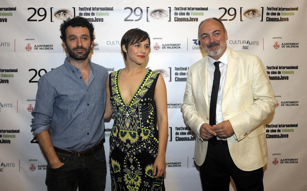 Aura Garrido, Rodrigo Sorogoyen y Rafael Maluenda_MC