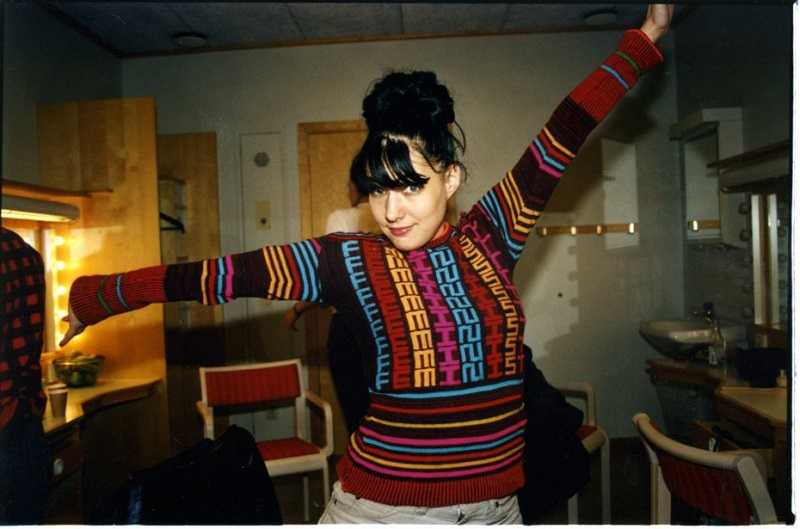 Kathleen Hanna, el punk con cara de niña buena.