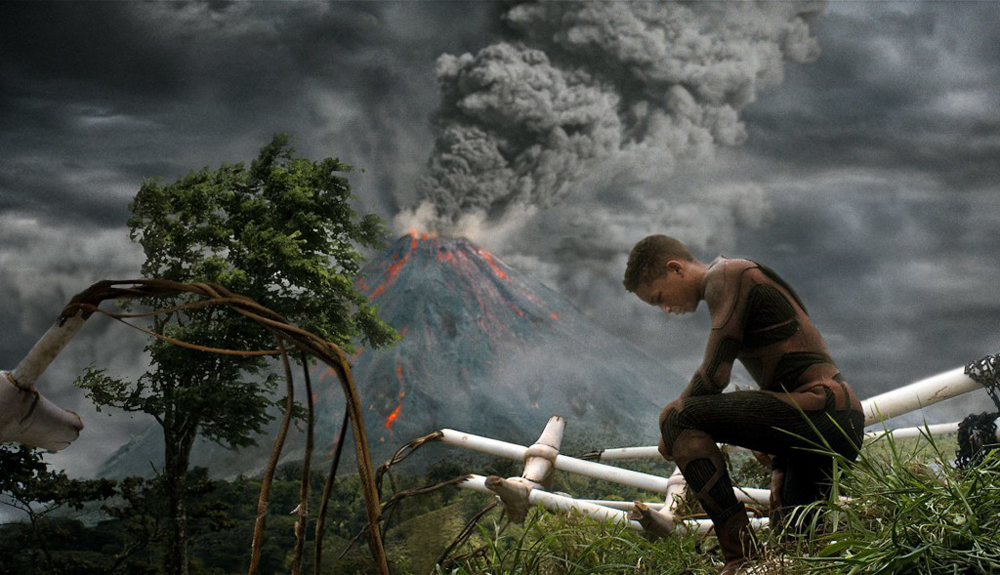 Jaden Smith, protagonista de After Earth (2013)