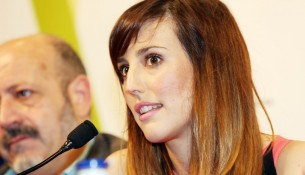 Natalia de Molina en la RDP de 'Techo y Comida' en el Festival de Málaga